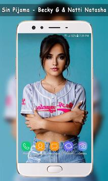 Sin Pijama - Natti Natasha , Becky G Wallpaper screenshot 1