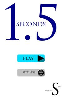 1.5 Seconds (Unreleased) poster