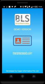 BLS International App poster