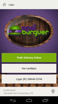 Açaíburguer screenshot 1