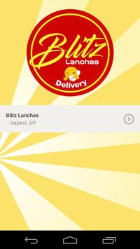 Blitz Lanches poster