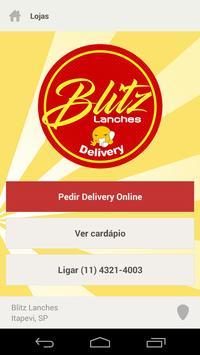 Blitz Lanches screenshot 1