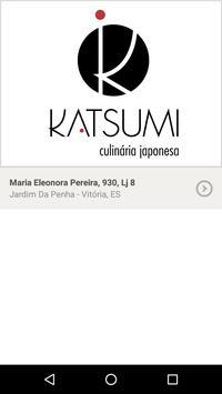 Katsumi Culinária Japonesa poster