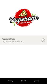 Paperone Pizza poster