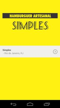 Simples poster