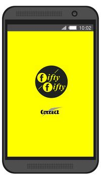 Fifty Fifty Taxi Bratislava poster
