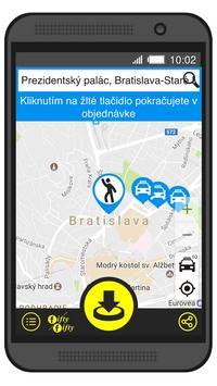Fifty Fifty Taxi Bratislava screenshot 1