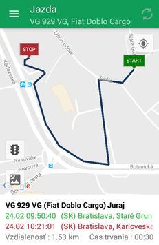 Mobilný Vodič apk screenshot