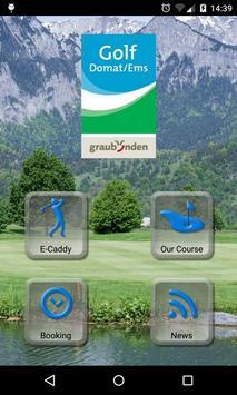 Golf Club Domat/Ems poster
