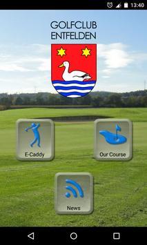 Golfclub Entfelden poster