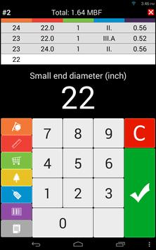 13 Schermata Wood calculators & Recorder - TIMBERPOLIS