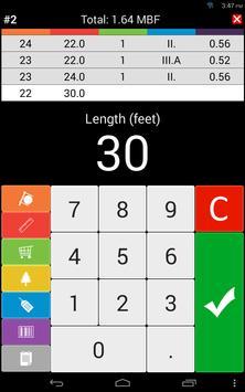 22 Schermata Wood calculators & Recorder - TIMBERPOLIS