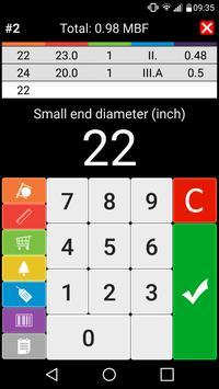 5 Schermata Wood calculators & Recorder - TIMBERPOLIS