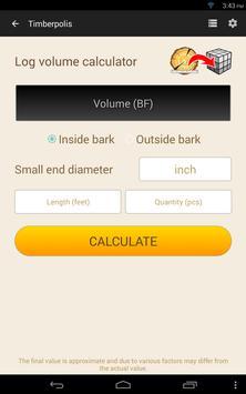 9 Schermata Wood calculators & Recorder - TIMBERPOLIS
