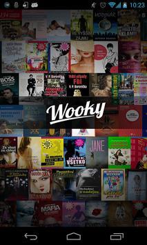 Wooky - ebook reader poster