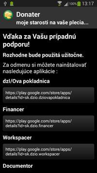 Donater apk screenshot
