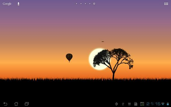 Sunset Live Wallpaper screenshot 1
