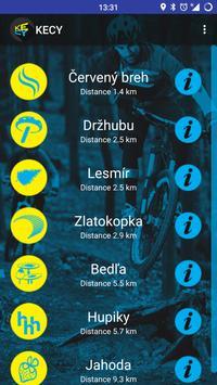 Poster KECY Kosicke cyklotraily