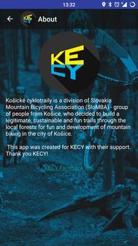 KECY Kosicke cyklotraily captura de pantalla 3