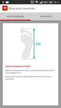 Shoe Size Converter poster