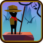 Jurassic Mania - Stickman Adventure icon