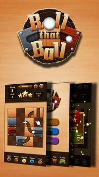 Roll That Ball - Slide Puzzle poster