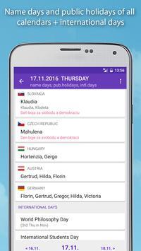 Name days apk screenshot