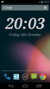 DIGI Clock Widget poster