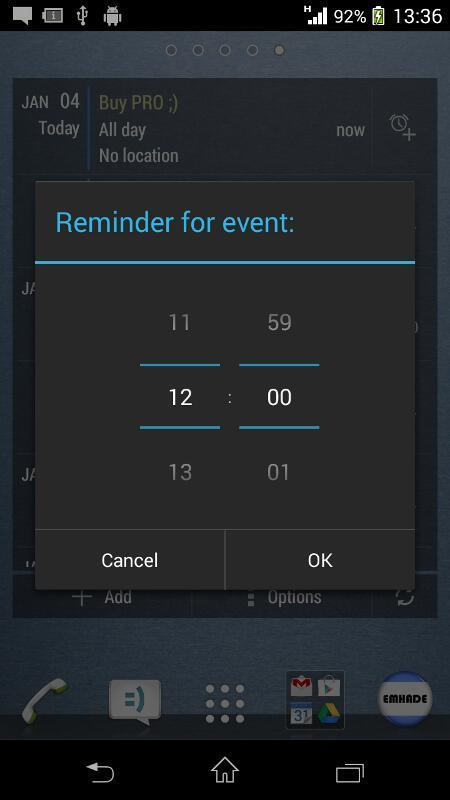 Calendario Android Widget.Widget Calendario Key Para Android Apk Baixar