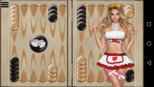 Backgammon Strip (Tavla) poster