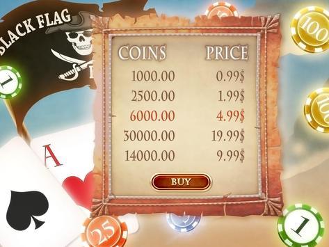 Pirate's Blackjack Classic 21+ apk screenshot