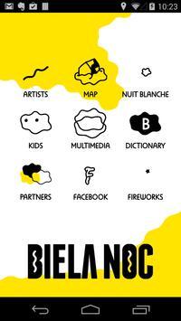 Biela Noc 2014 poster