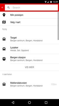 Norgesruter screenshot 2