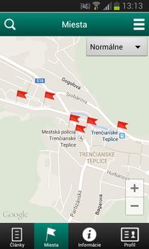 Trencianske Teplice - Tourist poster