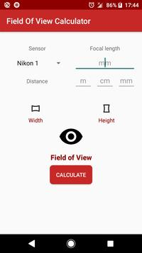 Field of View Calculator for Android - APK Download