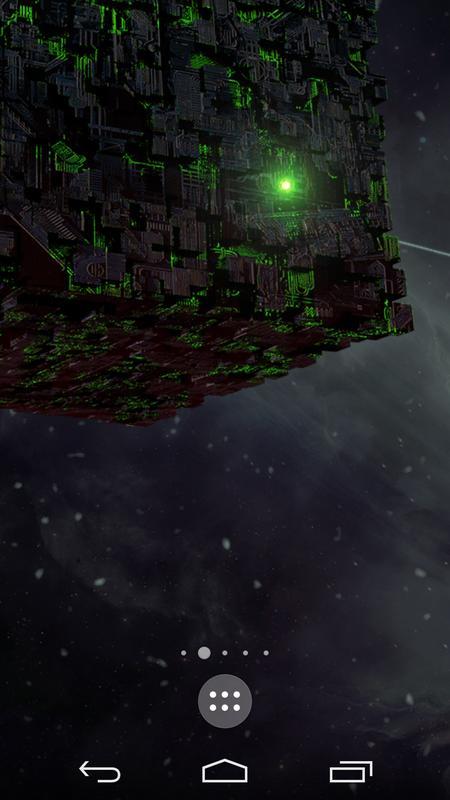 Borg Sci Fi Live Wallpaper Poster