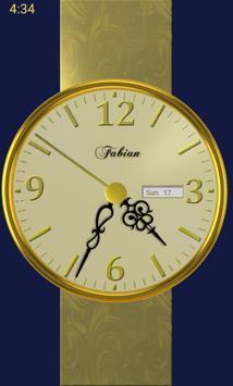 Gold Clock poster