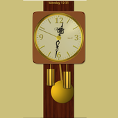 Modern Pendulum Wall Clock icon