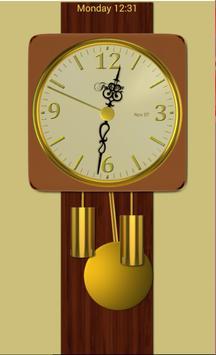 Modern Pendulum Wall Clock poster