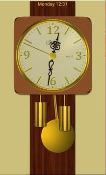 Modern Pendulum Wall Clock screenshot 1