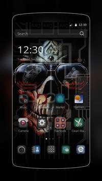 Tech Skull Business poster