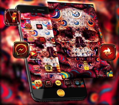Graffiti Skull Theme apk screenshot