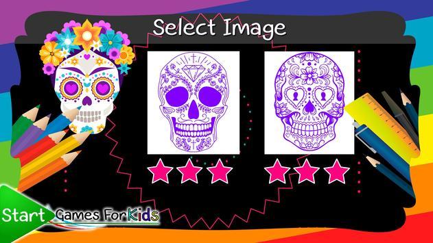 Skulls Mandalas For Adults screenshot 7