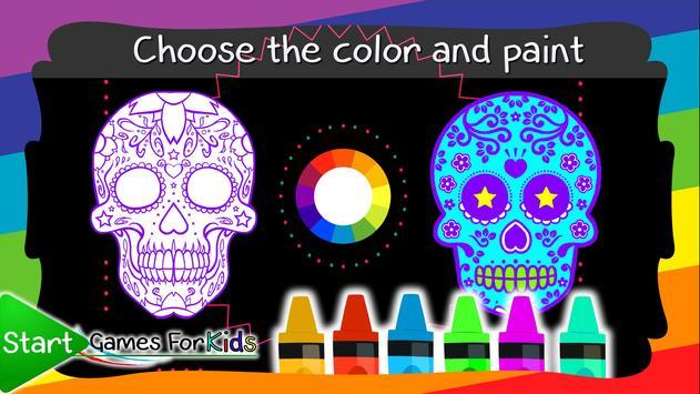 Skulls Mandalas For Adults screenshot 6