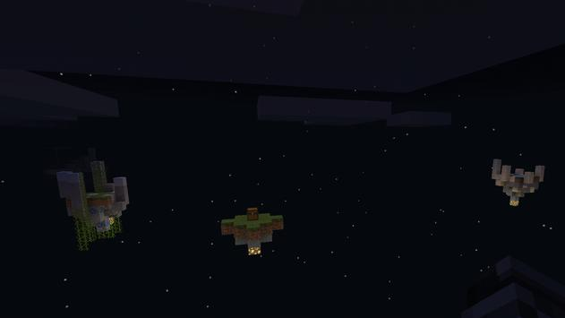 Sky Block challenge minecraft pe poster