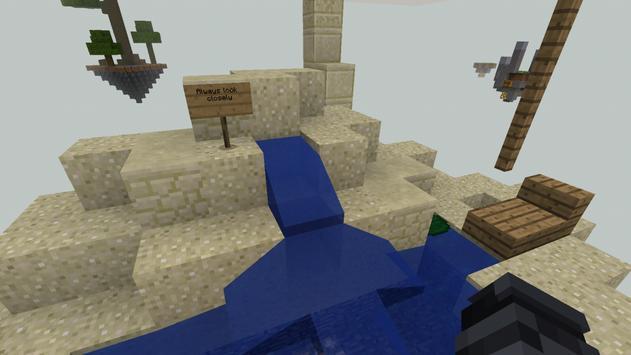 Sky Block challenge minecraft pe apk screenshot