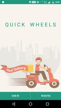 Quickwheels Delivery Boy poster