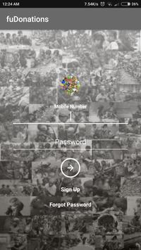 fuDonations: Donate food screenshot 1