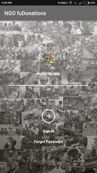 fuDonations NGO poster