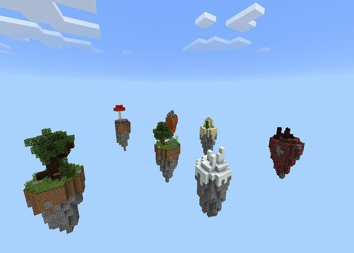 SkyBlock Island maps for MCPE for Android - APK Download